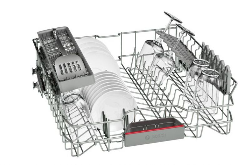 Съдомиялна BOSCH SMV68IX00E, за пълно вграждане,  60 см.