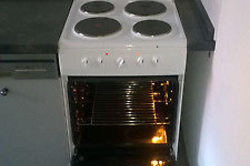 Ел. печка с чугунени котлони ОК OFC 1111-1