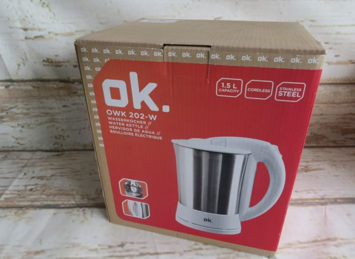 Електрическа кана OK OWK202-W