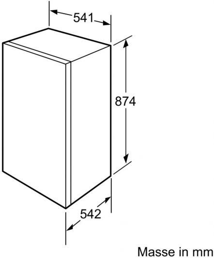Фризер за вграждане BOSCH GID18A30