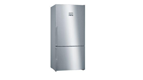 Свободностоящ хладилник с долен фризер BOSCH SERIE 6 KGN86AIDP