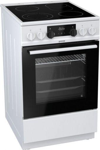 Готварска печка GORENJE EC5351WA с керамичен плот