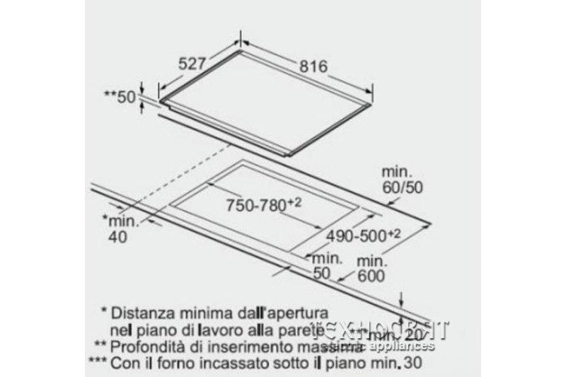 Индукционен плот Bosch PIP875N17E