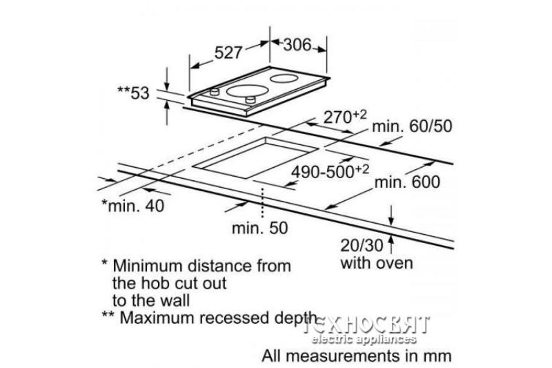 Индукционен плот Bosch  PIE375N14E