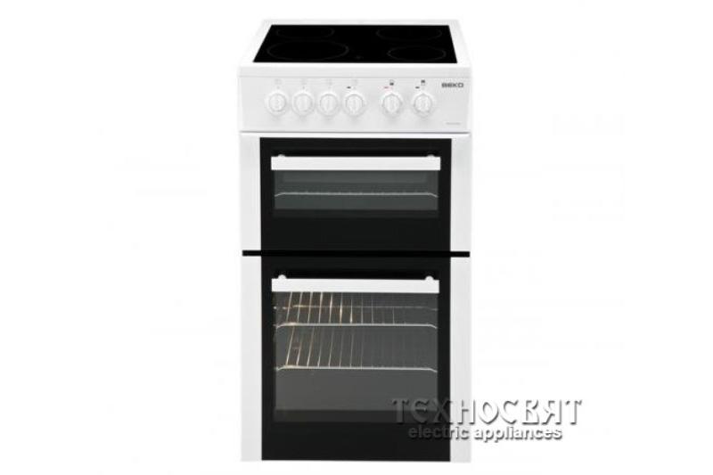 Говарска печка с керамичен плот BEKO BDVC563AW