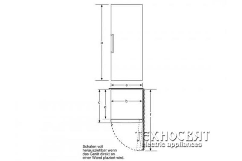 Фризер Bosch  GSN29AW30