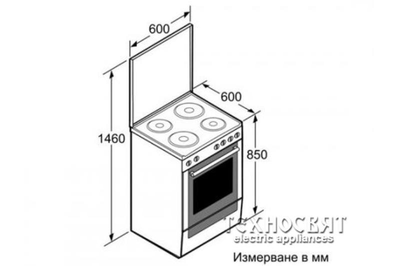 Готварска печка Bosch HSE420120