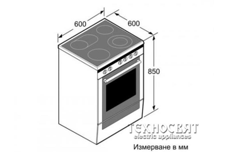 Готварска печка Bosch HCE743350E