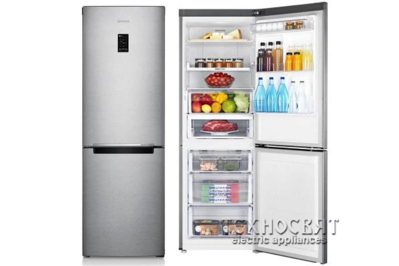Хладилник с фризер  Samsung RB29HER2CSA