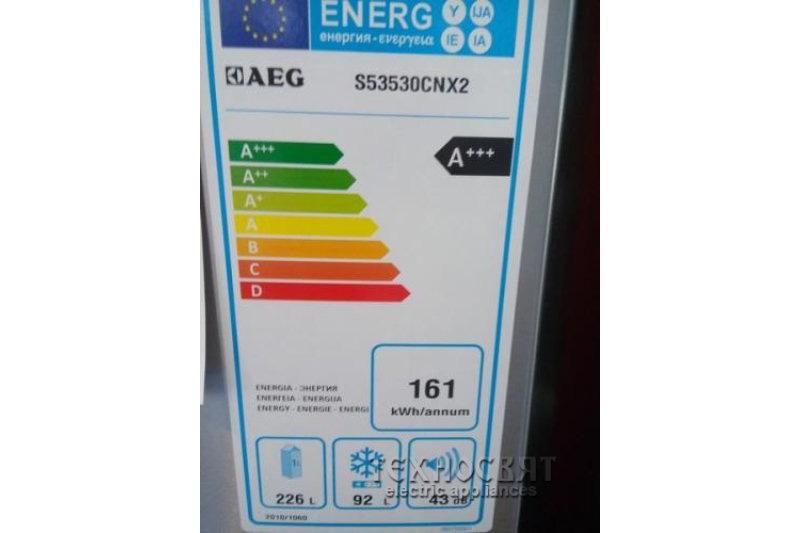 Хладилник с Фризер AEG S53530CN