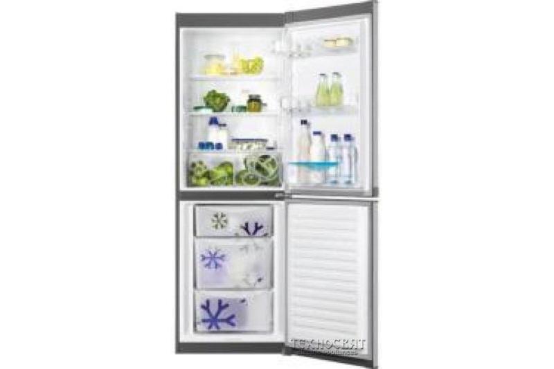 Хладилник с фризер Zanussi ZRB33100XA